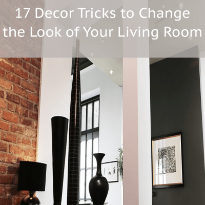 17 Living Room Decorating Ideas that Anyone Can Do