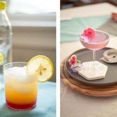 Icelandic Glacial Sparkling Water Cocktails