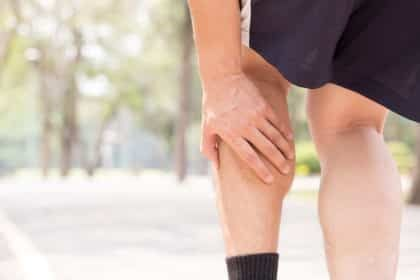 Pain in the calf or claudication