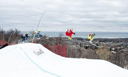 Blue Mountain World Cup Ski Cross