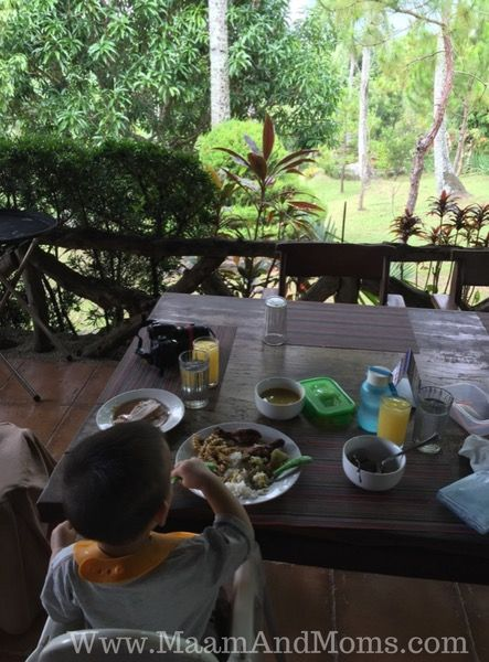 Cintai coritos garden Abadi restaurant view