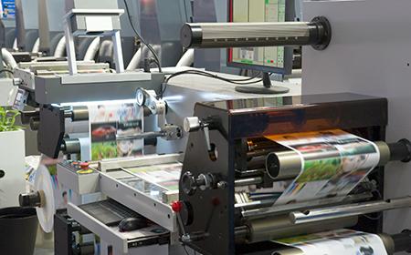 photo of a photo editing print shop