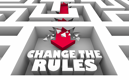 Graphioc stating change the rules