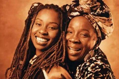 Stephanie Marley and Rita Marley