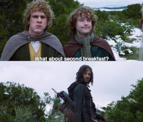 food hobbits