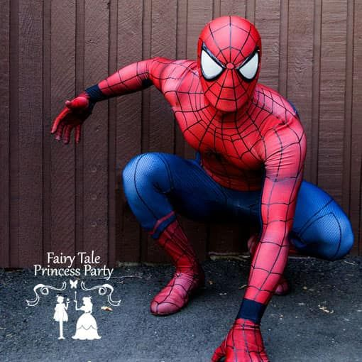 Spider Hero Children's Entertainer in the Calgary area