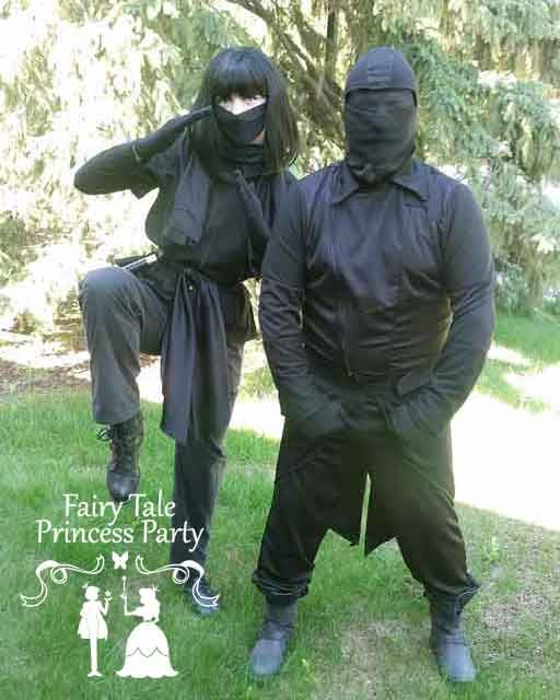 Ninja Performers for Kids Birthday Appearance in Calgary
