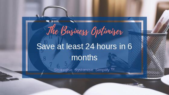 The Business Optimiser Blog - How I Saved 24 Hours