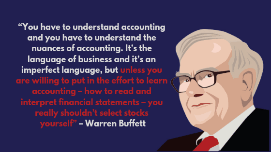 4 Notable Quotes On the Value of Accounting Knowledge from the World Richest and Influential People