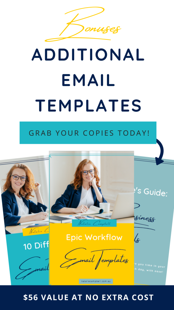 Business Operations Email Templates Bonuses | Natalie Campbell