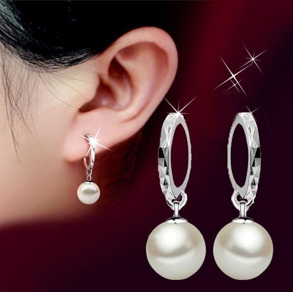 sample description for pearl earrings shirt