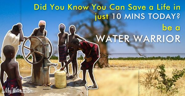 Save Life with drinking water
