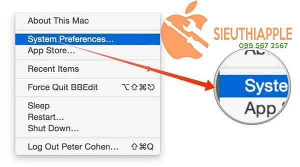 Khắc phục Macbook bị lỗi wifi
