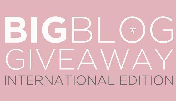 Blog Giveaway International Edition