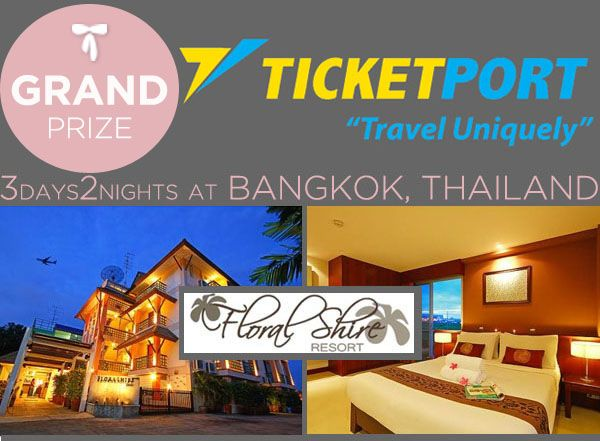Ticketport Grand Prize Floral Shire Resort