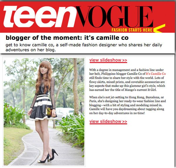 Featured on TeenVogue.com (1)