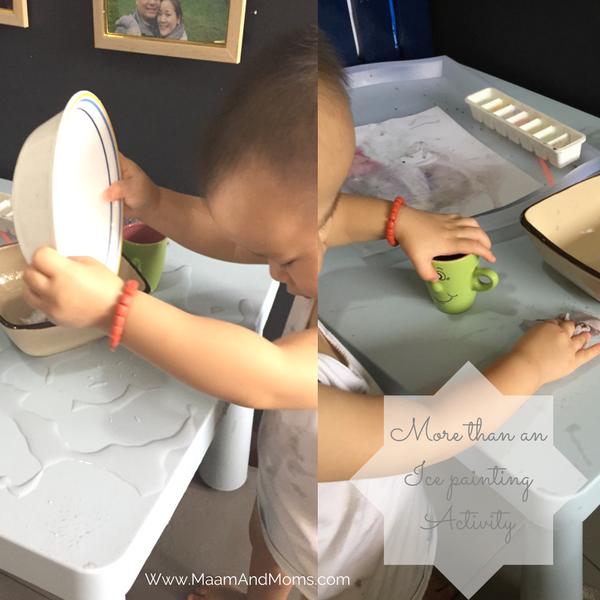 Toddler practical life work