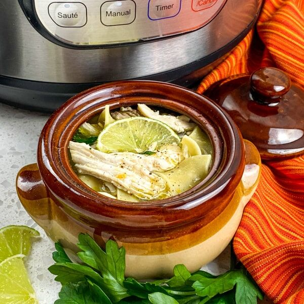 Deliciously Comforting Instant Pot® Chicken Noodle Soup