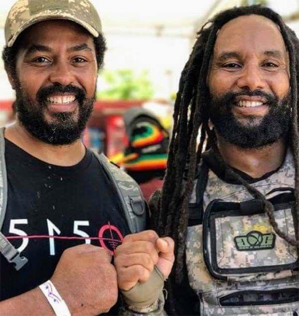 Robbie Marley and Ky-Mani Marley