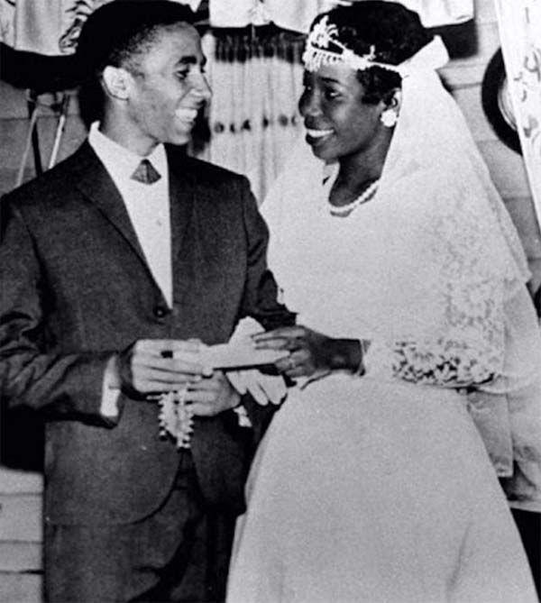 Mr. and Mrs. Robert Nesta Marley