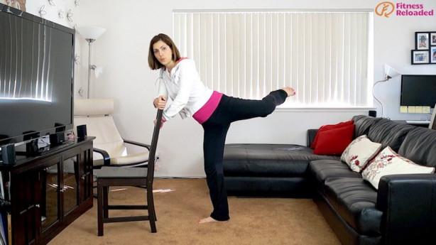 butt chair workout