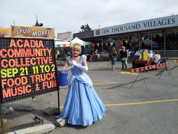 Cinderella at the Acadia Community Collective Event