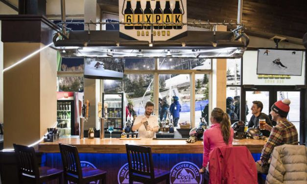 Blue Mountain's New 6IX PAK Bar at Grand Central Lodge