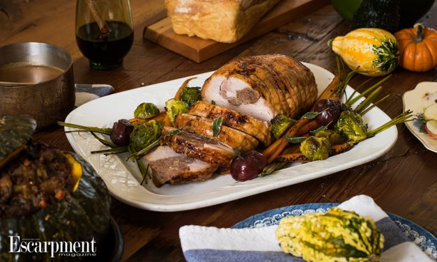 Holiday Turkey Roll with Maple Duck Sausage