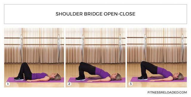 shoulder bridge open-close