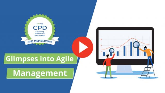 Glimpses into Agile Management