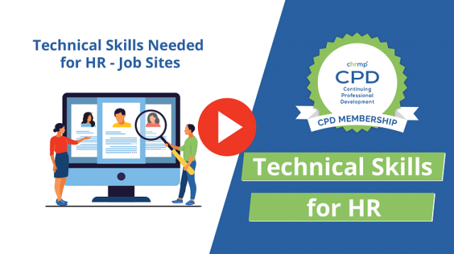 Technical Skills Needed for HR - Job Sites