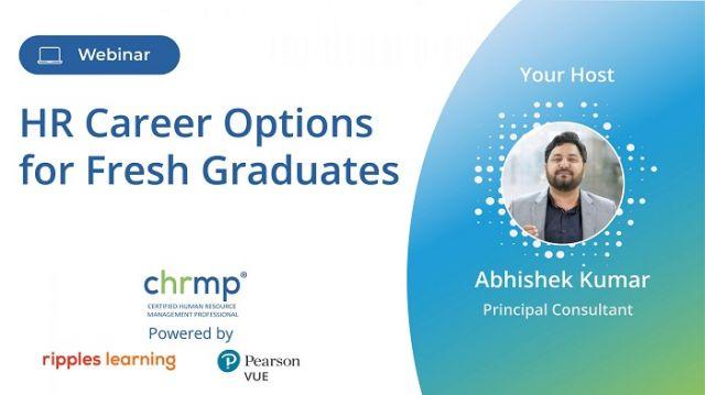 HR Career Options for Fresh Graduates