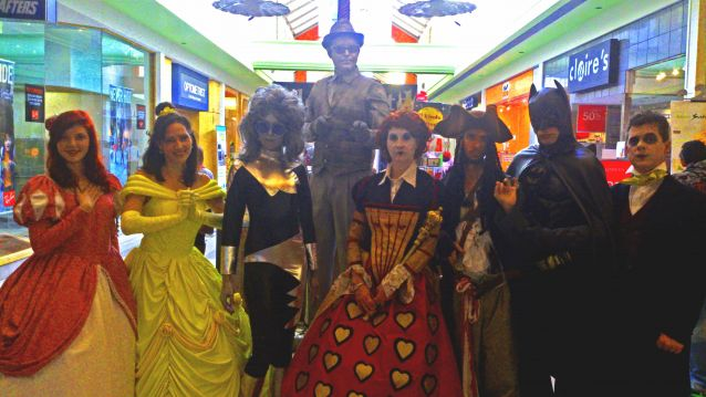 The Halloween Crew at Northland Village Mall
