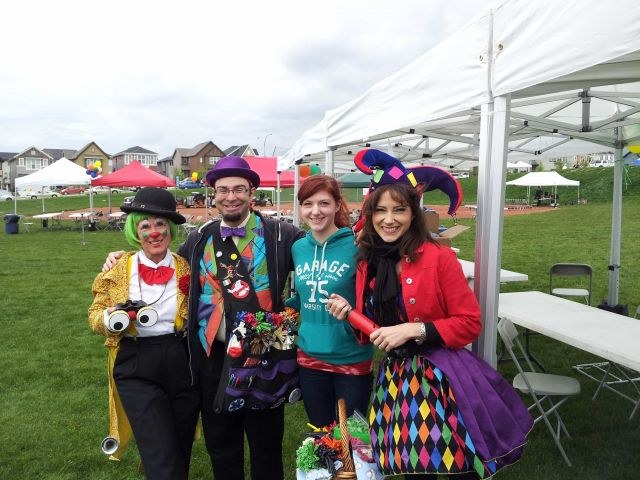 Loonie Toon, Professor Vito, Valentine and FairyTalePrincessParty