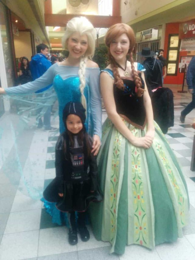Calgary Kids came to visit with Ice Queen and Snow Princess