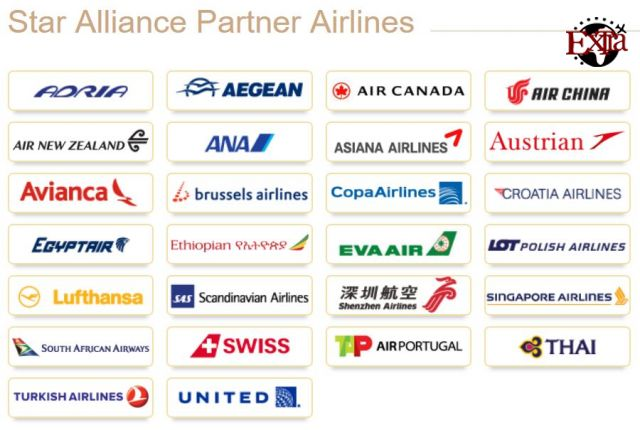 Star Alliance Partner Airlines