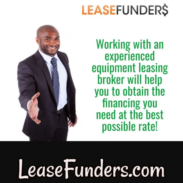work with an equipment leasing company-min