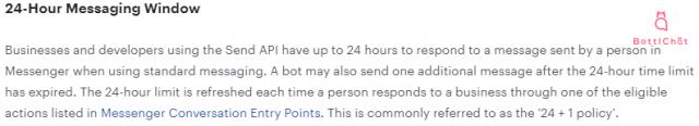 24 Hour Messaging Window