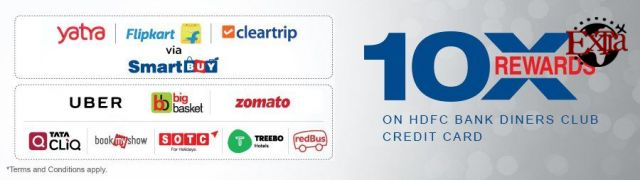 HDFC 10X Partner Brands