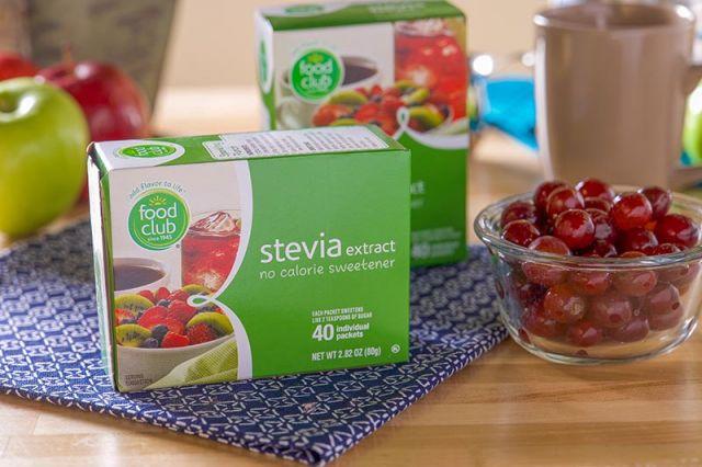 Stevia foods club 40 packets 17407 cuadro