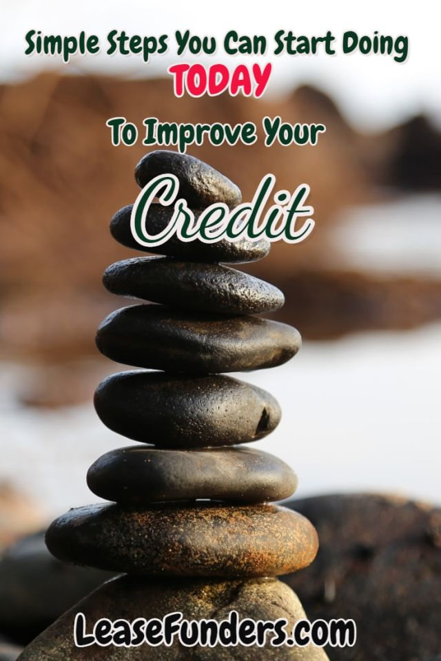 Simple Steps to improve your credit-min