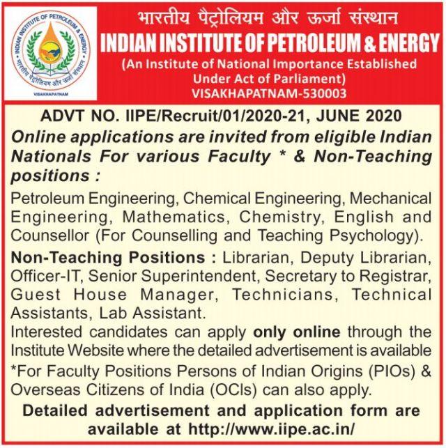 iipe recruitment