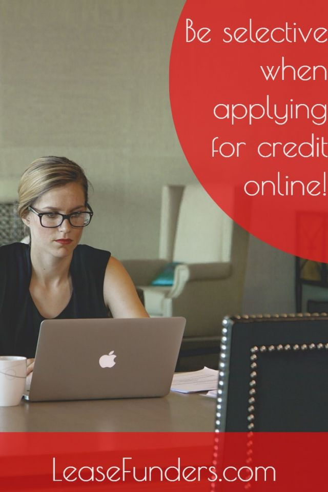 be selective when applying for credit-min