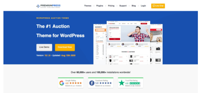 10 Best WordPress Penny Auction Themes And Plugins for 2020