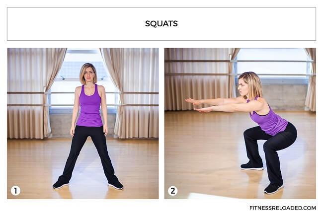 squats isotonic