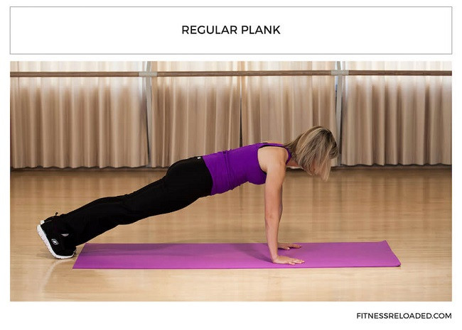 regular plank isometric exercises