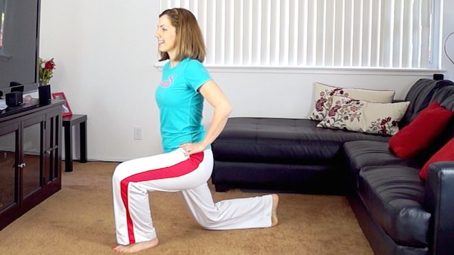 best exercises for lean legs: lunges