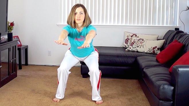 Regular squats