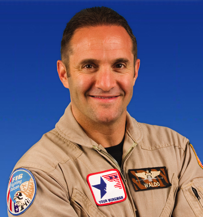 Lt Col Waldo Waldman portrait