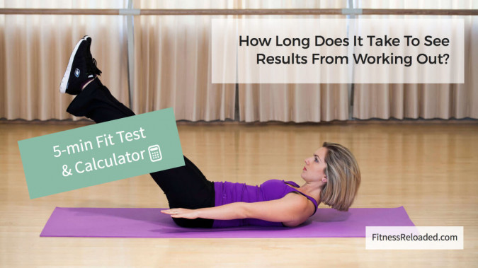 [Calculator] How Long Does It Take To See Results From Working Out?